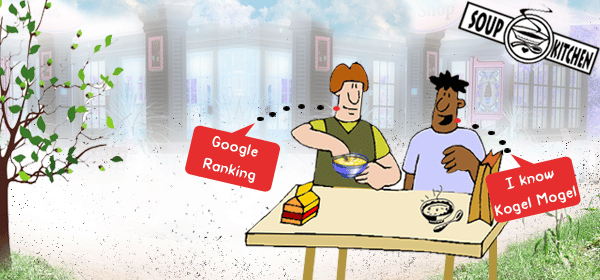 Google Ranking: A table for 2 Image